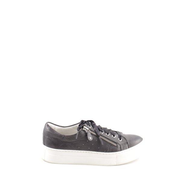 Boxx Schnürschuhe schwarz-weiß Casual-Look