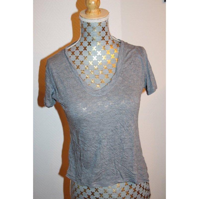 Brandy Melville crashed T-Shirt (one size) Gr. XS Knitterlook
