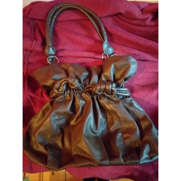 braune  Handtasche von Zalando