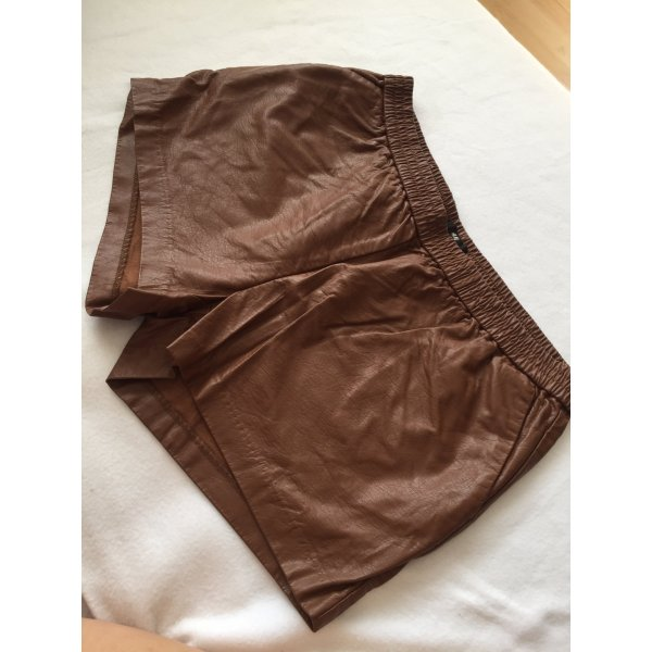 H&M Shorts marrone-cognac