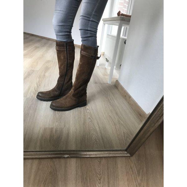Braune Stiefel von Manas