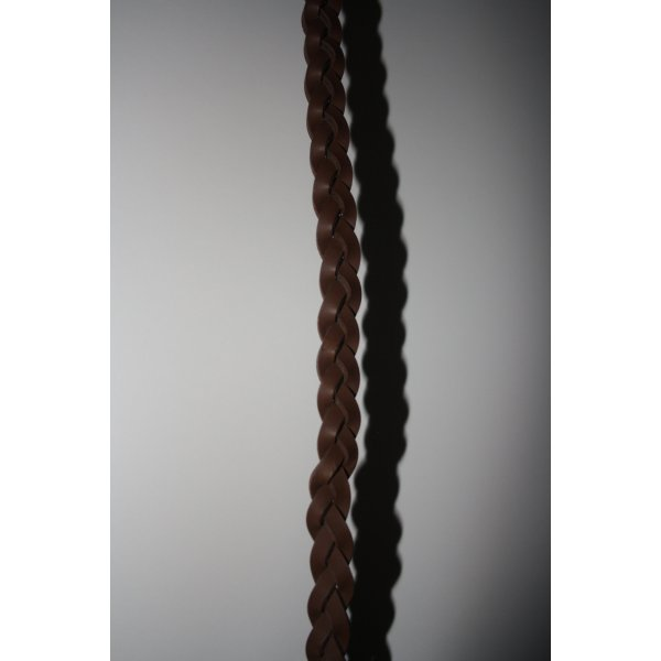 no name Braided Belt brown leather