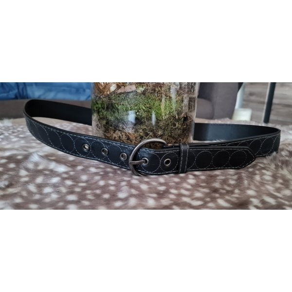 C&A Faux Leather Belt dark brown