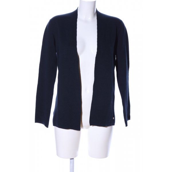 Brax Strick Cardigan blau Casual-Look