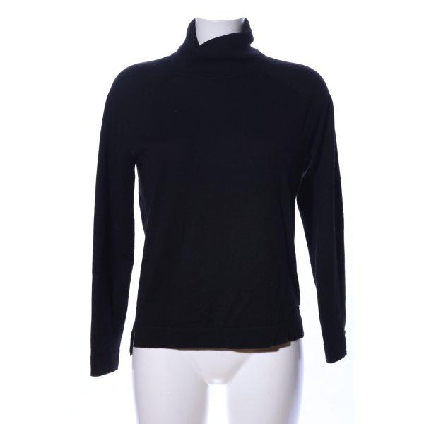 Brax Wool Sweater black casual look