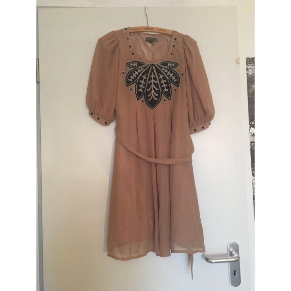 #bridesmaid #xmsasstyle: beiges Kleid, XS, von Fever London