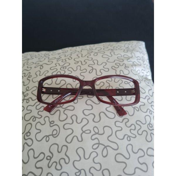 Emporio Armani Glasses bordeaux