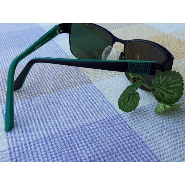 Brillengestell grün schwarz, neuwertig Humphreys Eschenbach