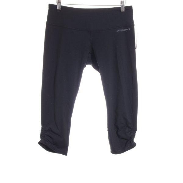 Brooks Sporthose schwarz Casual-Look