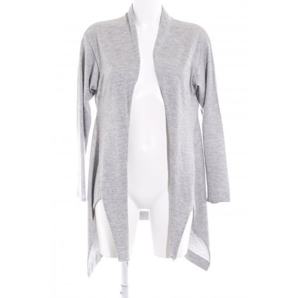 Brunello Cucinelli Knitted Cardigan light grey-silver-colored flecked