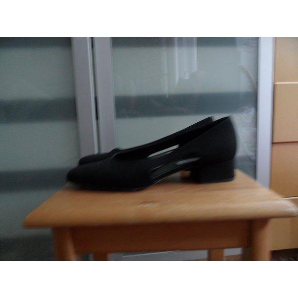 Bruno Magli Italy Schuhe gr.40 Textil/Leder Luxus Pur.