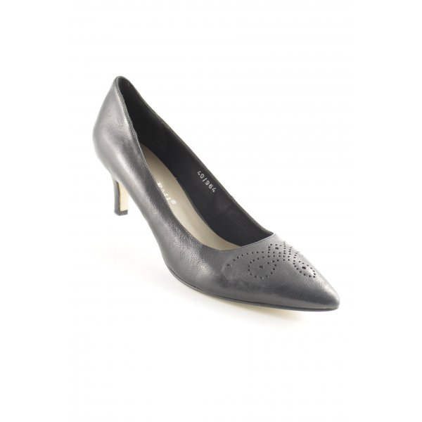 Bruno Premi Spitz-Pumps schwarz Business-Look