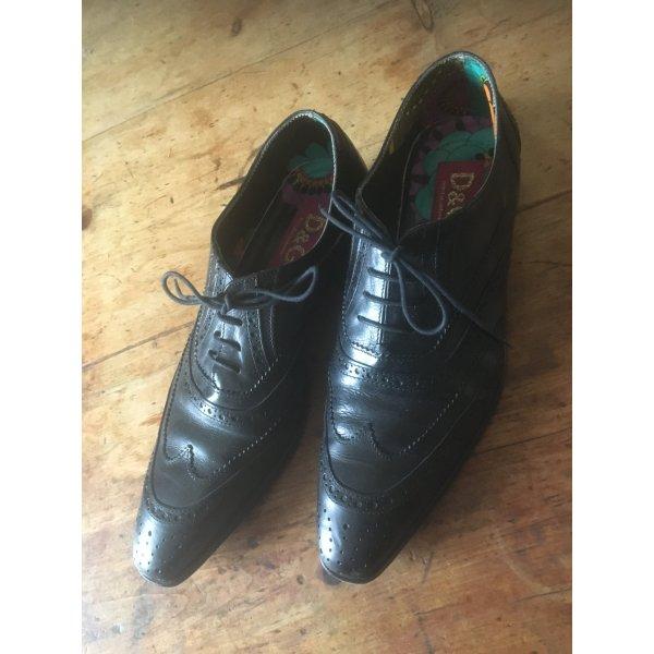 Dolce & Gabbana Zapatos Budapest negro Cuero