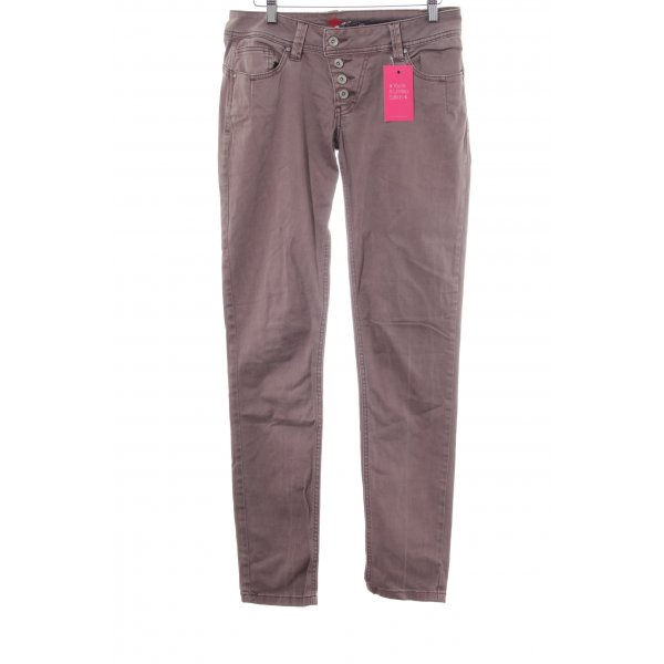 Buena Vista Skinny Jeans blasslila-graulila Casual-Look