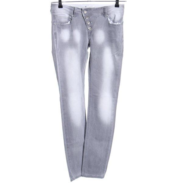 Buena Vista Skinny Jeans hellgrau Casual-Look