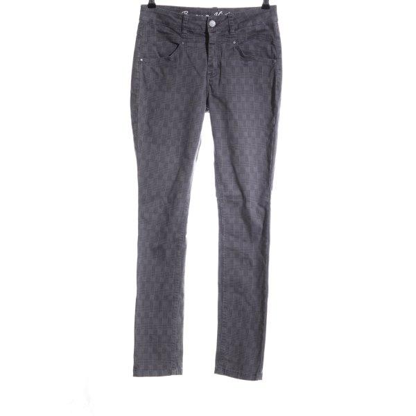 Buena Vista Slim Jeans hellgrau Allover-Druck Casual-Look