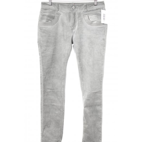 Buena Vista Slim Jeans grau Casual-Look
