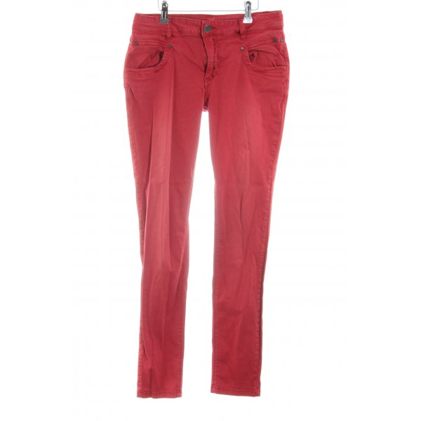Buena Vista Stretch Jeans rot Casual-Look