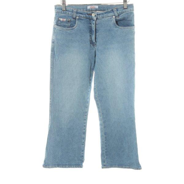 Buffalo 3/4 Jeans blau Casual-Look