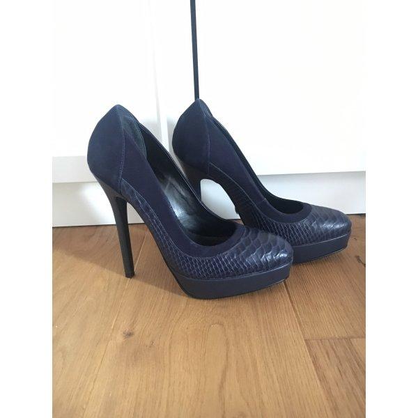 Buffalo High heels blau, 38