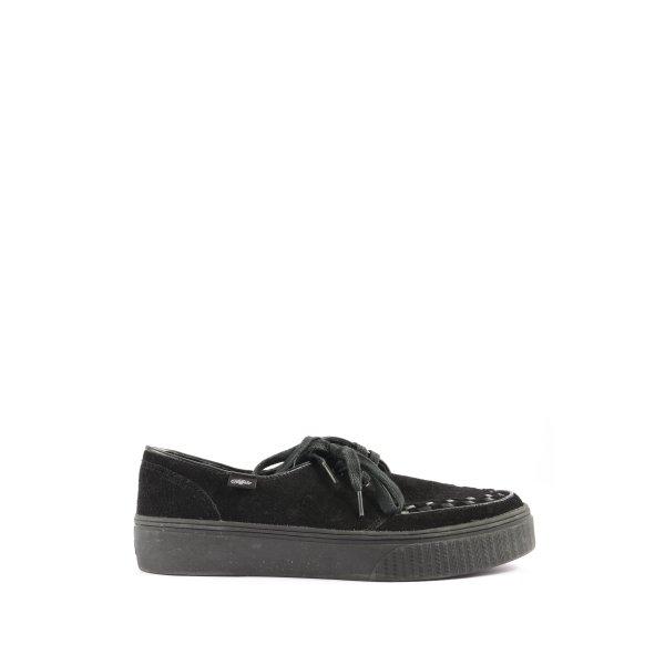 Buffalo Wedge Sneaker schwarz Casual-Look