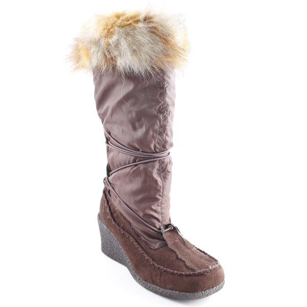 Buffalo Winterstiefel braun Casual-Look