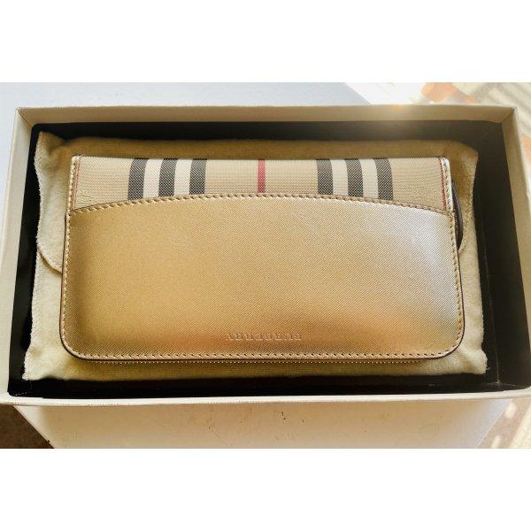 Burberry Lange Brieftasche Geldbörse mit Reißverschluss/Wallet neu!