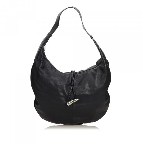Burberry Hobos black leather