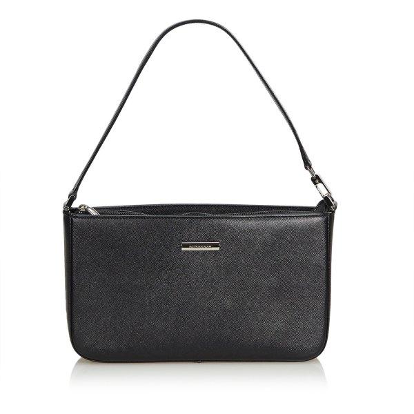 Burberry Handbag black leather