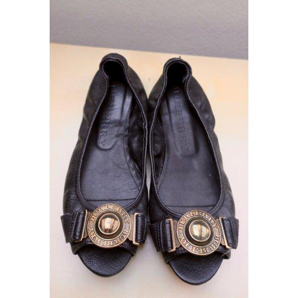BURBERRY Leder Ballerinas, Gr. 41