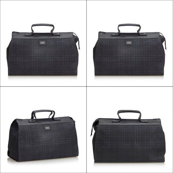 Burberry Plaid Travel Bag