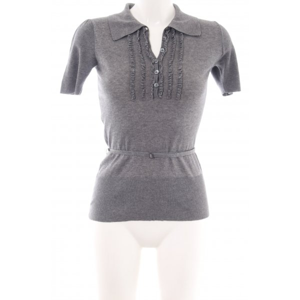 Burberry Knitted Jumper light grey casual look