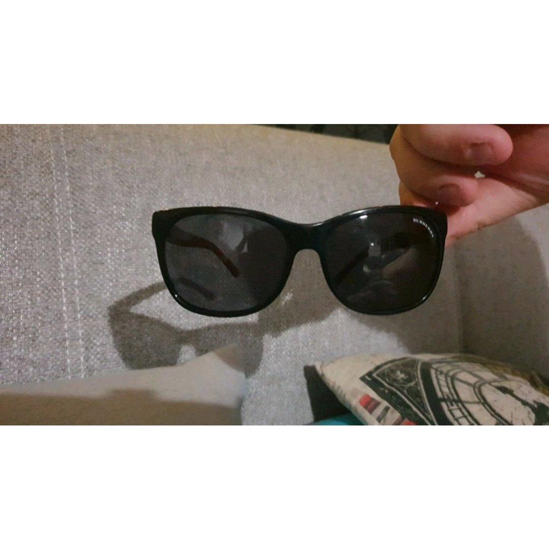 Burberry Sunglasses Sonnenbrille Burgunder
