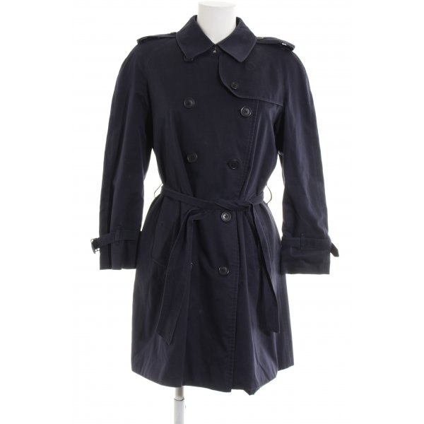 Burberry Trench Coat blue casual look