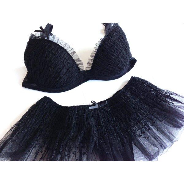 Palmers Conjunto de lencería negro