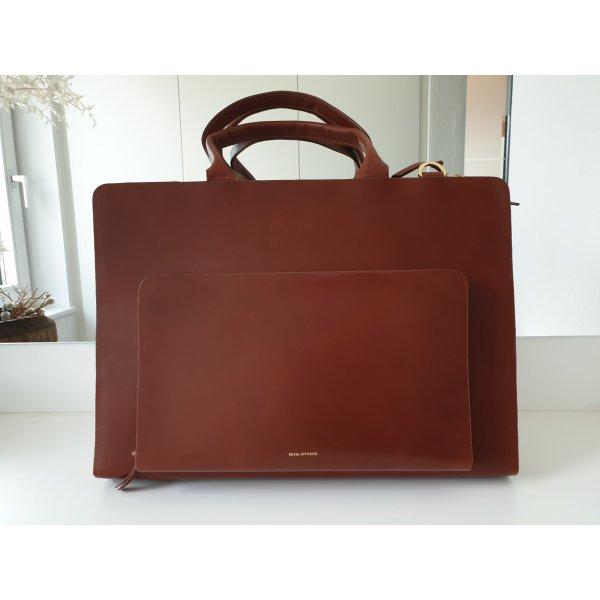 Business- Tasche aus Leder