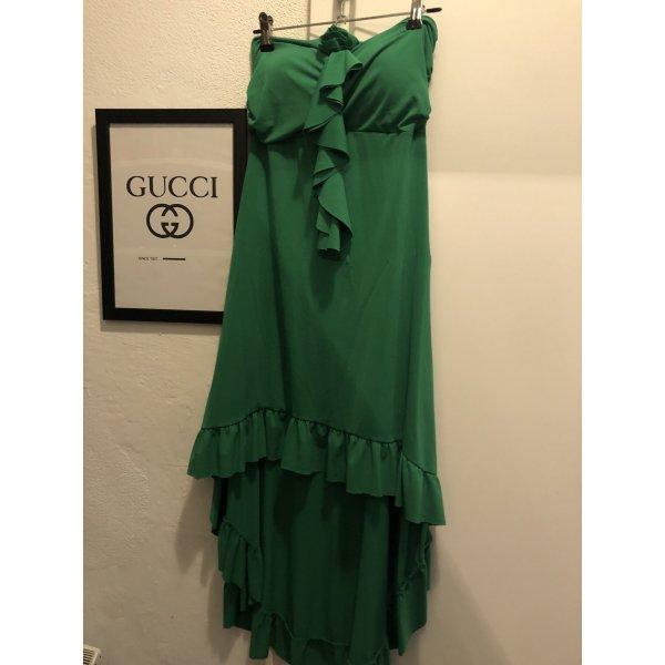 Bustier Kleid grün