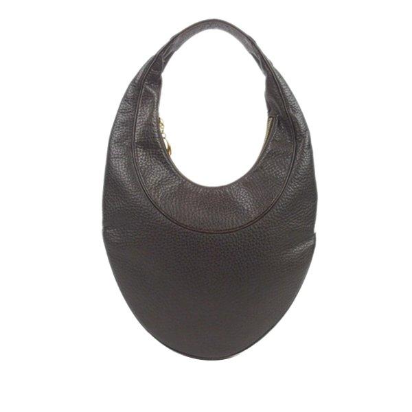 Bvlgari Ascot Leather Hobo Bag