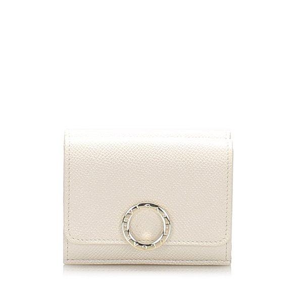 Bvlgari Leather Bifold Wallet