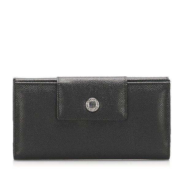 Bvlgari Leather Long Wallet