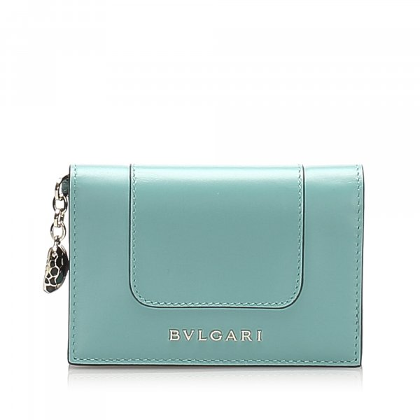 Bvlgari Leather Small Wallet