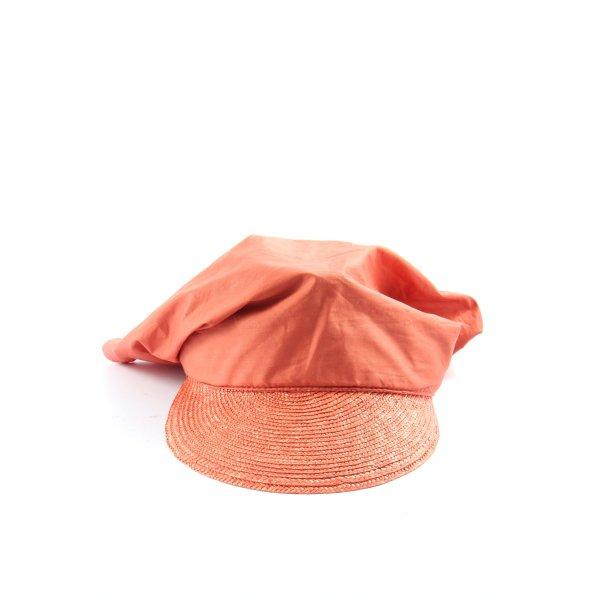 C&A Baker's Boy Cap light orange casual look