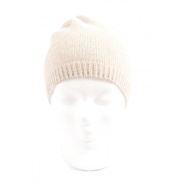 C&A Knitted Hat natural white casual look