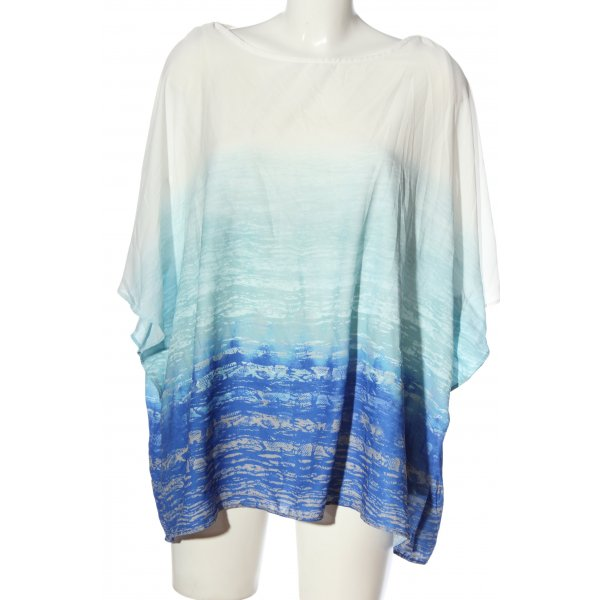 C&A Yessica Kurzarm-Bluse Allover-Druck Casual-Look
