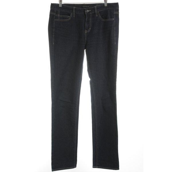 Calvin Klein Jeans Skinny Jeans dunkelblau Casual-Look