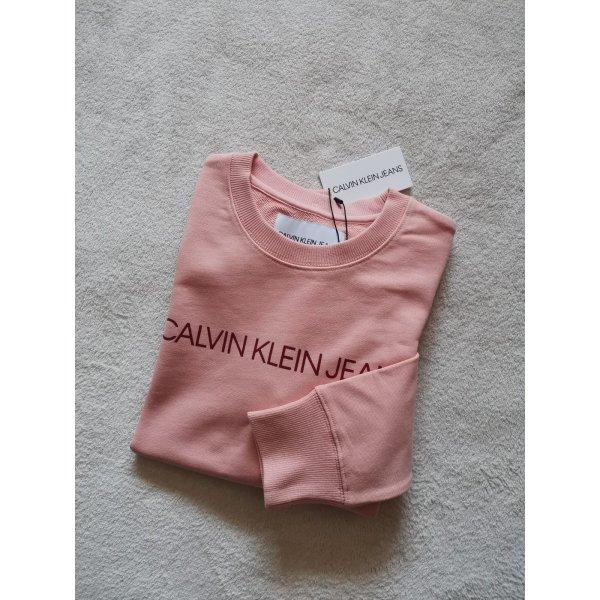 Calvin Klein Pulli NEU Sweatshirt S 36 NEU rose rosa Longsleeve