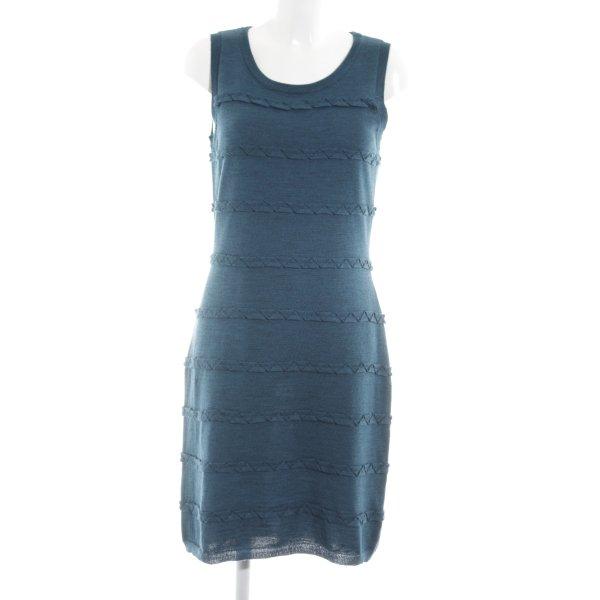 Calvin Klein Strickkleid blau Casual-Look