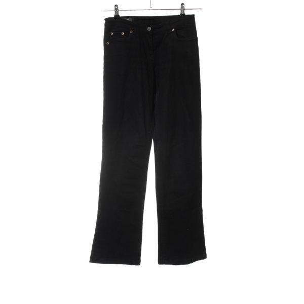 Camomilla Straight-Leg Jeans schwarz Casual-Look
