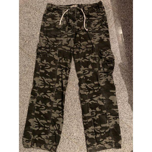 Camouflage Cargohose khaki