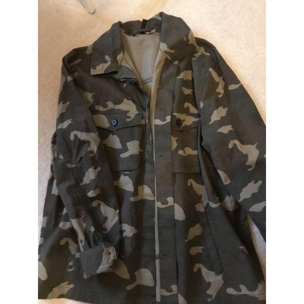 Camouflage Hemdjacke